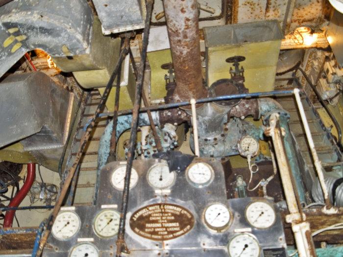 Chatham Dockyard Boiler Room